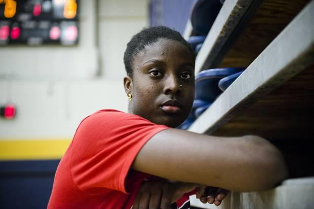 Laeticia Amihere, who will graduate from high school in 2019, has narrowed her list of potential schools to 14.