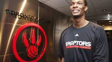 Toronto Raptors Chris Bosh walks from the dressing room before speaking to the media after finishing the NBA season in Toronto April 15, 2010. REUTERS/Mark Blinch (CANADA - Tags: SPORT BASKETBALL) (MARK BLINCH/REUTERS)
