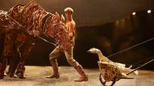 Mirvish's all-Canadian production of War Horse did not ride out of the Dora awards empty-hooved. It won for best costume design and best choreography.