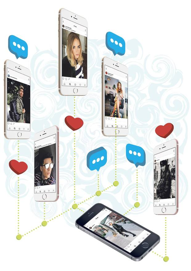 IT-FLUENCERS Canadian online personalities like Alexander Liang (top left), Gracie Carroll (top right), Erica Ehm (far right) and Jay Strut (right) have turned their Instagram accounts into coveted outlets for lifestyle brands. International heavyweights in the social space include Bryan Grey Yambao (above) and Chiara Ferragni (top centre).