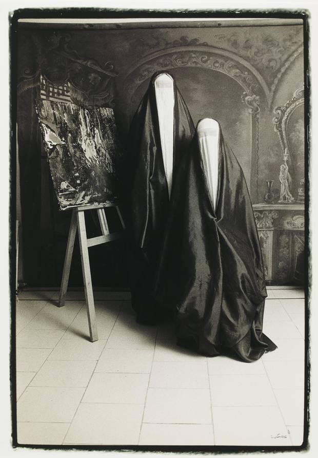 Untitled #11 (from the Qajar series), by Shadi Ghadirian