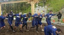Tough Mudder is a strenuous obstacle course that puts teams' strength and co-operation to the test. (Samsung Canada)