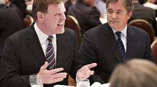Foreign Affairs Minister John Baird was a guest at a luncheon Friday in Montreal. (OLIVIER JEAN FOR THE GLOBE AND MAIL)