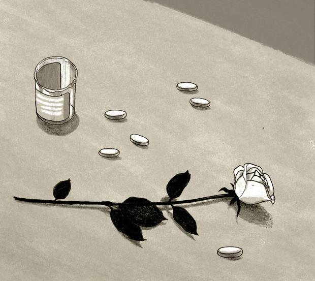 The widowhood effect: What it's like to lose a loved one so young