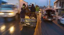 There are fears Haiti could see a repeat of the rioting caused by food shortages in 2008. (Dieu Nalio Chery/AP)