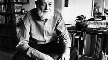 Earle Birney, poet, in 1973 (Erik Christensen/The Globe and Mail)