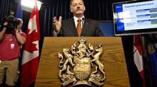 Alberta Finance Minister Doug Horner is shown in Edmonton on Aug. 29, 2013. (JASON FRANSON/THE CANADIAN PRESS)