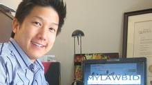 Lawyer and Mylawbid.com founder Jeff Fung (COURTESY OF JEFF FUNG)