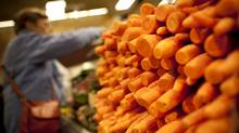 Carrots for sale at a Fred Meyer store in Bellingham, Wash. (JOHN LEHMANN/JOHN LEHMANN/THE GLOBE AND MAIL)