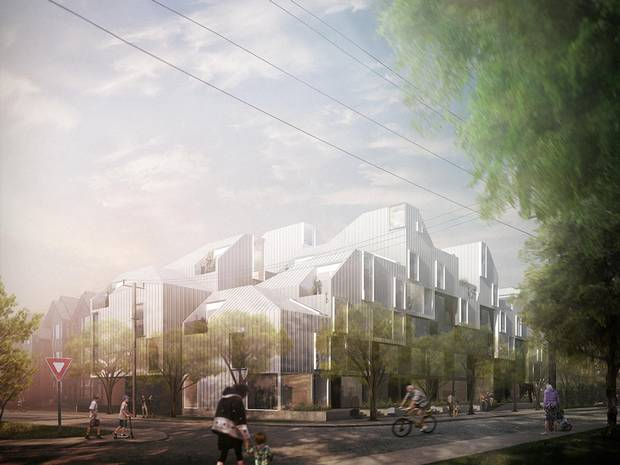 Village, designed for RNDSQR by Modern Office of Design and Architecture (MODA).
