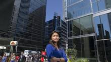 Jmee Lynn Widjaya brought her lean business skills to Sun Life Financial after working in the aerospace, banking and media sectors. (Matthew Sherwood For The Globe and Mail)