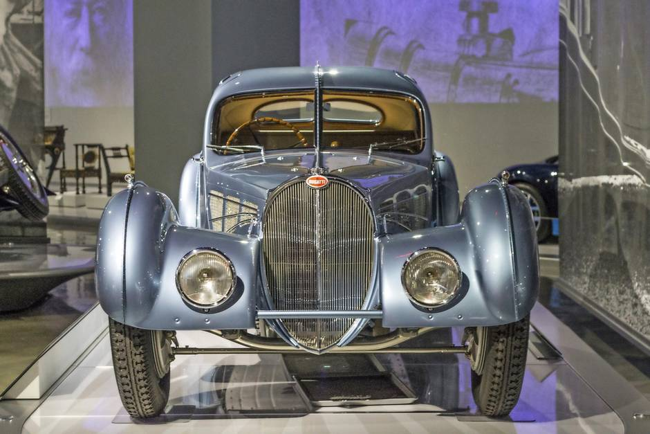 Inside an L.A. museum filled with famous multi-million dollar cars ...