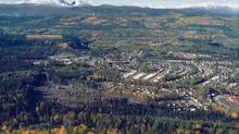 View of the town of Tumbler Ridge, B.C. (Courtesy of Western Coal)
