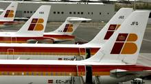 Spanish airline Iberia is one of the European companies to have announced thousands of job cuts across the European economy. (SERGIO PEREZ/REUTERS)