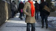 Controversial Muslim author Irshad Manji in Toronto March 5, 2014. (Kevin Van Paassen/The Globe and Mail)