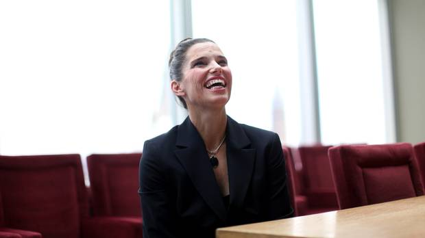 Newly installed Minister of Science Kirsty Duncan.