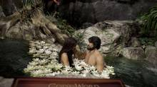 Adam and Eve are depicted at the Creation Museum in Petersburg, Ky. (Moe Doiron/The Globe and Mail)