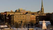 A view of downtown Saint John, N.B. (Brian Atkinson for The Globe and Mail)