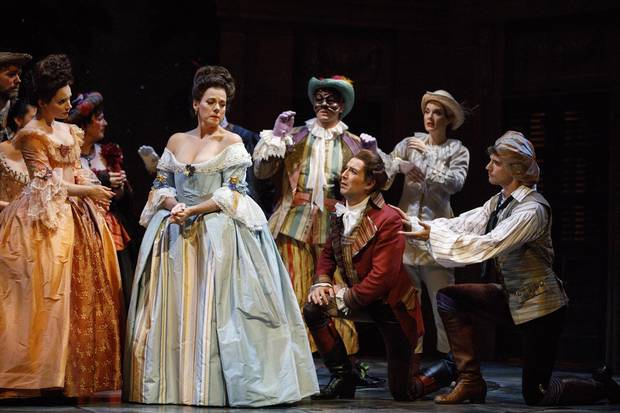 Opera Atelier's production of The Marriage of Figaro.