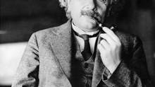 Geniuses like Albert Einstein, the father of the atomic age and the modern world's greatest genius, suddenly had the power to destroy, author Darrin McMahon says. (Associated Press)