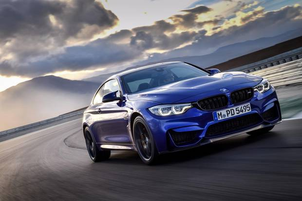 Review 2019 Bmw M4 Cs Blends Race Cred With Road Manners