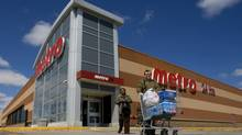 A Metro grocery store in Toronto. (Peter Power/The Globe and Mail)