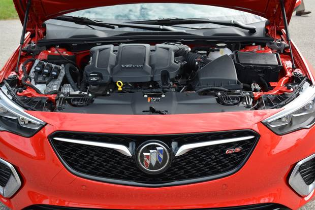 A 310-hp 3.6-litre V6 pumps up the energy level in the GS.