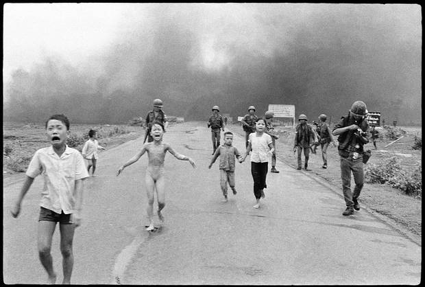 "If there was one photograph that captured the horrific nature of the Vietnam war, it was the picture taken in 1972 of nine year old girl Kim Phuc, running naked down a road, screaming in agony after her village in the Central Highlands of Vietnam was sprayed with the chemical weapon napalm. Although the photographer Nick Ut helped save Kim Phuc's life by taking her to hospital, it would take many years and several operations before she would be able to get on with life. ""It seemed that picture didn't want to let me go. At first, I was very upset. And then a wonderful thing happened. I thought, 'If I can't escape that picture, I can work with it for peace.' I accepted it as a powerful gift for me."" Kim Phuc (1963 - )"
