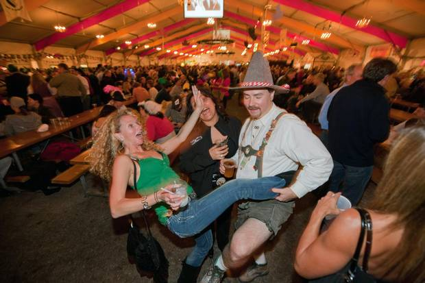 The Kitchener-Waterloo, Ont., region's Octoberfest is the largest one in North America, and features more than 40 events from a five kilometre 'Fun Run' to the 'Stein & Dine' beer pairing dinner.