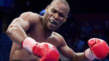 Longueuil, Que. super-middleweight Adonis Stevenson defeeated Noe Gonzalez of Uruguay before an international television audience on Friday. FILE PHOTO: The CANADIAN PRESS/Graham Hughes (Graham Hughes/The Canadian Press)