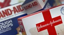 File photo shows Johnson and Johnson products. (Chris O'Meara/AP)