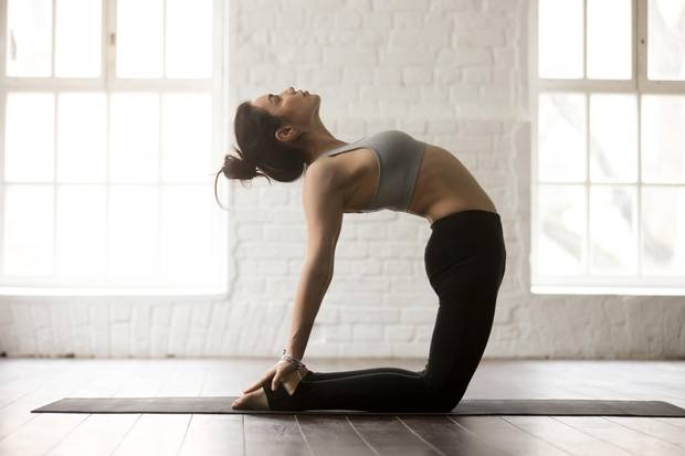 Bikram yoga, which is practised in a heated room, can be considered a form of heat training, says Dr. Jessica Mee.