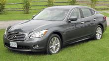 2012 Infiniti M35h (Bob English for The Globe and Mail)