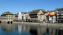 Zurich's Old Town neighbourhood has hardly changed in 200 years. (John Lee)