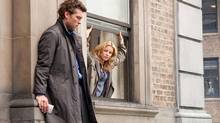 "Sam Worthington and Elizabeth Banks in a scene from ""Man on a Ledge"" (Myles Aronowitz)"