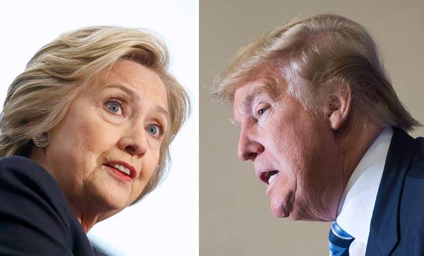 Donald Trump and Hillary Clinton look set for an ugly battle for the White House after a bruising primary season.