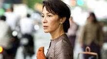 "Michelle Yeoh in a scene from Luc Besson's film ""The Lady"" (Cohen Media Group)"
