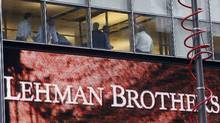 Proposed U.S. reforms to the buying and selling of bonds are designed to avoid a repeat of the global banking crisis triggered by the collapse of Wall Street brokerage firm Lehman Brothers in 2008. (Joshua Lott/Reuters/Joshua Lott/Reuters)