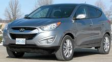 2012 Hyundau Tucson (Bob English for The Globe and Mail)