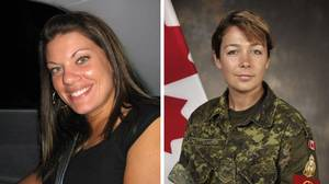 Murder victims Jessica Lloyd and Cpl. Marie-France Comeau
