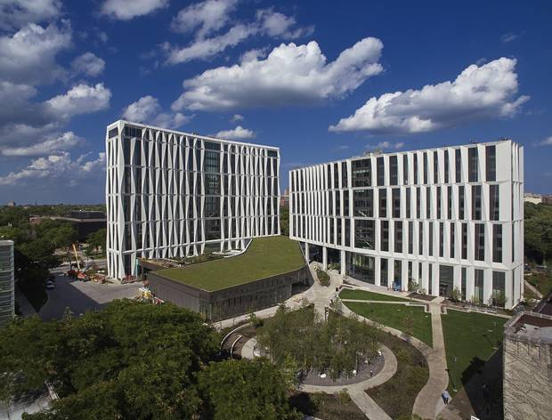 The North Residential Commons at the University of Chicago.