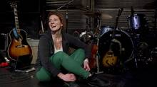 Canadian singer/songwriter Kathleen Edwards is pictured at a Toronto rehearsal studio on Tuesday January 12, 2012 as she promotes her new album Voyageur. The first time Edwards was shortlisted for the Polaris Music Prize back in 2008, she didn't know much about the award. (Chris Young/THE CANADIAN PRESS)