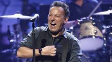 Bruce Springsteen and the E Street Band perform onstage at the famed Apollo Theater in Harlem, New York, March 9, 2012. Today's topics: the War of 1812; Toronto's tunnel; fracking safety concerns; The Boss and the 1 per cent ... and more (REUTERS)