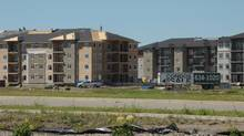 New housing and hotels are springing up throughout Estevan.