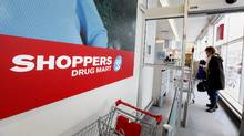 Shoppers Drug Mart location at Woodbine and O'Connor Avenues in Toronto. (Deborah Baic/Deborah Baic/The Globe and Mail)