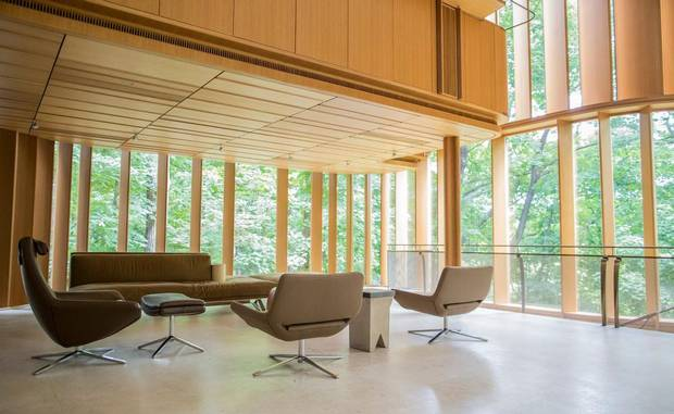 A Seating Area Inside The Concert Hall Of James Stewartu0027s Integral House In  Toronto. (Tim Fraser For The Globe And Mail)