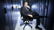 Robert Offley, CEO of CentriLogic, says the independent data centre operator is earmarking up to $40-million for acquisitions. (Tim Fraser for The Globe and Mail)
