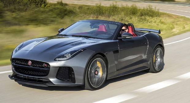 2017 Jaguar F-Type.