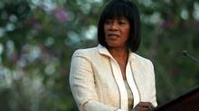 Jamaica's Prime Minister Portia Simpson Miller recently announced an ambitious domestic program to swap high-yield government debt for lower-yield paper. (RAMON ESPINOSA/AP)