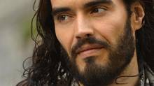 Russell Brand's evidence on drugs policy will be studied at U.K. high schools. (TOBY MELVILLE/REUTERS)